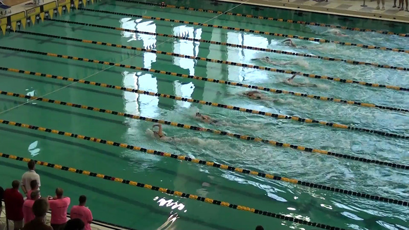 Women's 200m Butterfly Heat 01 - 2012 YMCA LC National Championships
