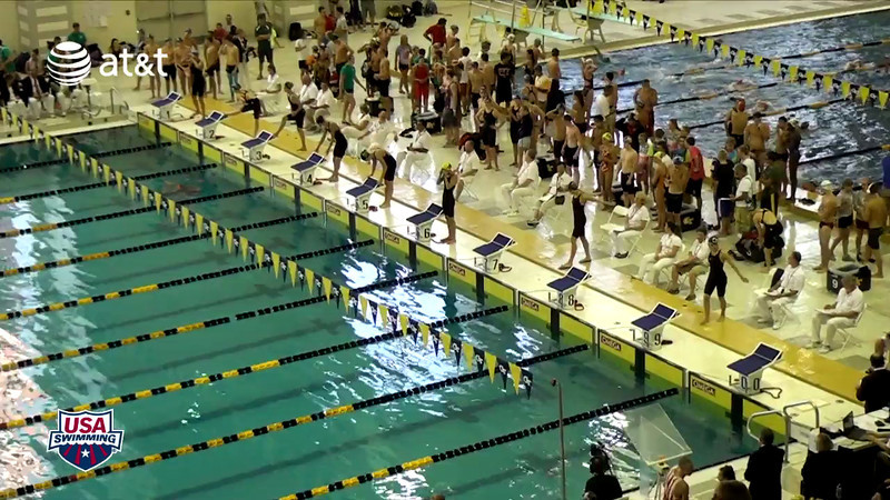 Women's 100 Freestyle Heat Final A - 2012 YMCA LC National Championships