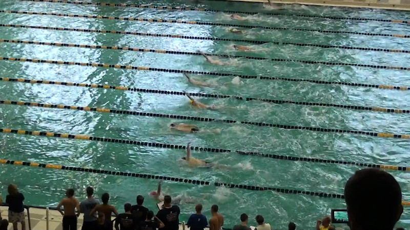 Men's 200 Backstroke Heat 09 - 2012 YMCA LC National Championships