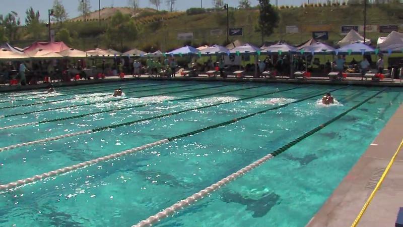 Men's 200m Breaststroke Heat 04 - 2012 California/Nevada Gold Sectional Championship