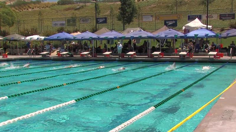 Women's 200m Backstroke Heat 06 - 2012 California/Nevada Gold Sectional Championship