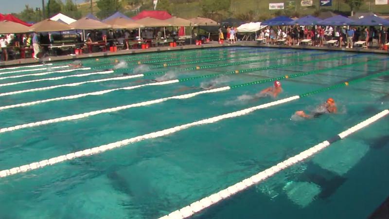 Women's 200m Butterfly Heat Final C - 2012 California/Nevada Gold Sectional Championship