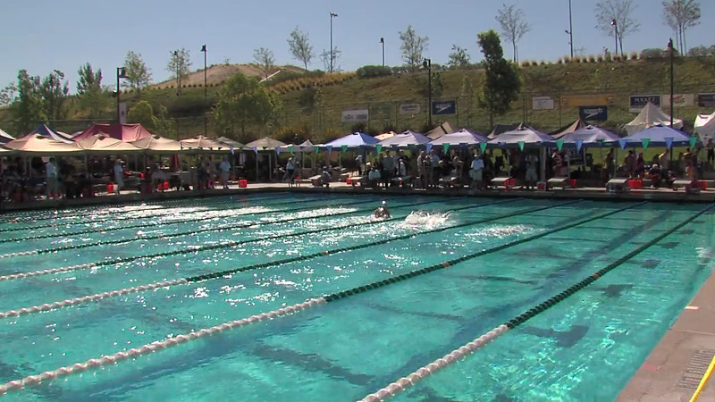 Women's 200m Breaststroke Heat 03 - 2012 California/Nevada Gold Sectional Championship
