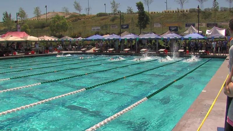 Men's 100m Freestyle Heat 07 - 2012 California/Nevada Gold Sectional Championship