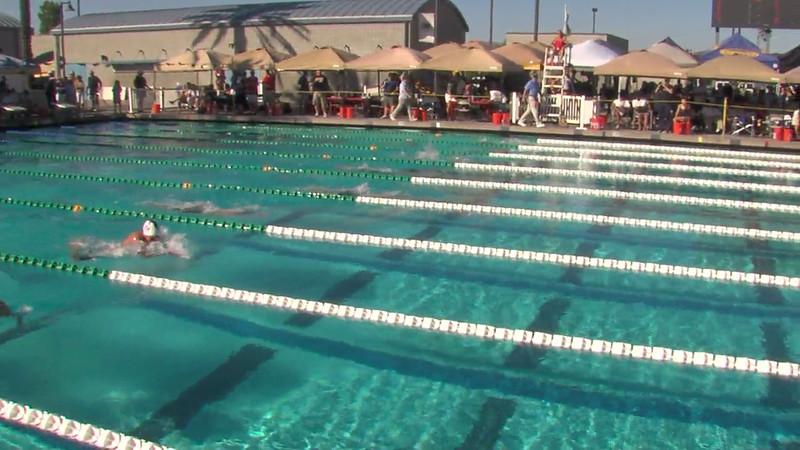 Women's 200m Breaststroke Heat Final C - 2012 California/Nevada Gold Sectional Championship