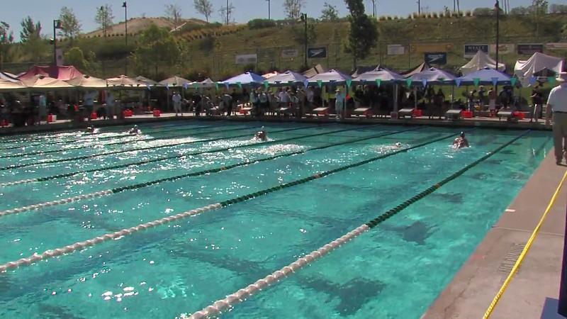 Women's 200m Breaststroke Heat 05 - 2012 California/Nevada Gold Sectional Championship