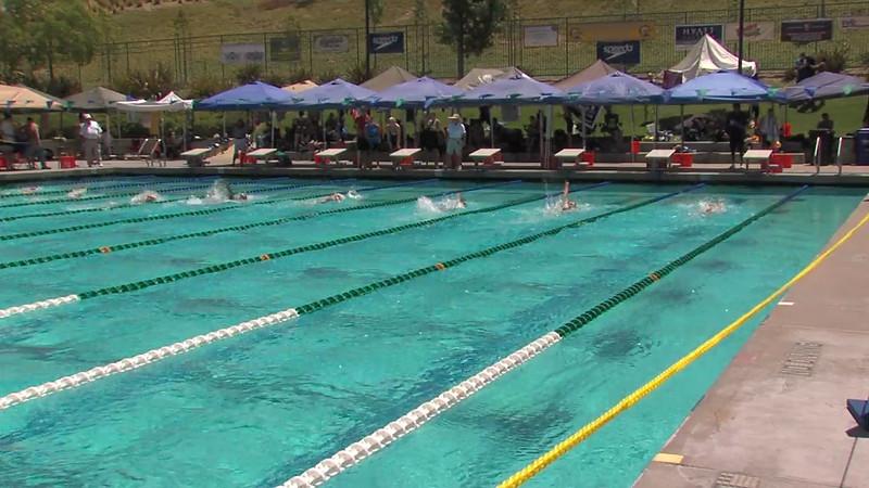 Women's 200m Backstroke Heat 03 - 2012 California/Nevada Gold Sectional Championship