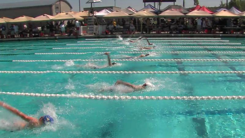 Men's 200m Backstroke Heat 02 - 2012 California/Nevada Gold Sectional Championship