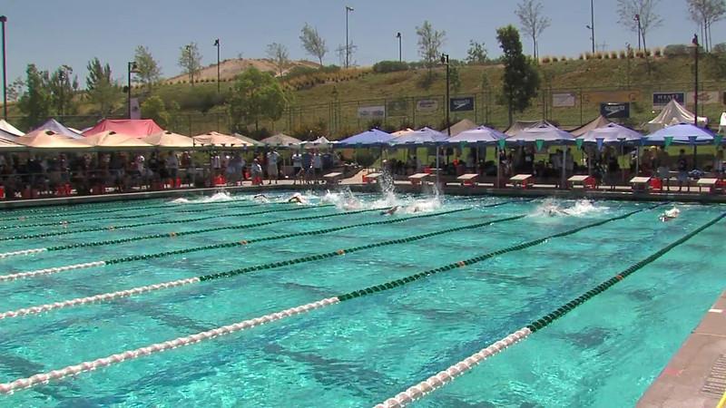 Men's 100m Freestyle Heat 01 - 2012 California/Nevada Gold Sectional Championship
