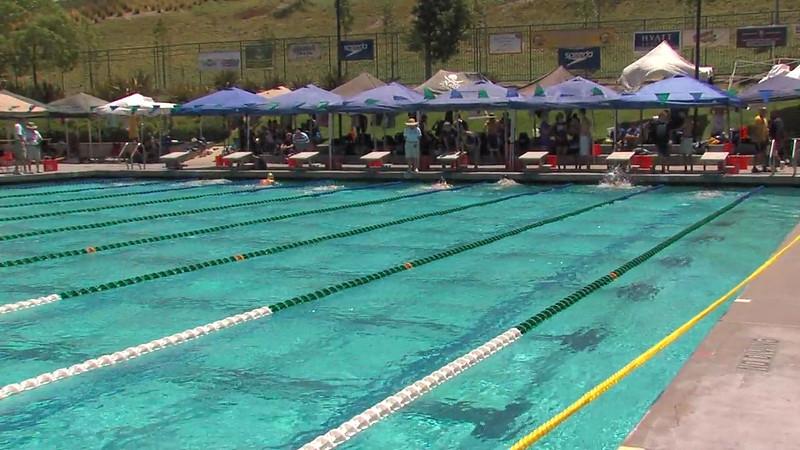 Men's 200m Breaststroke Heat 01 - 2012 California/Nevada Gold Sectional Championship