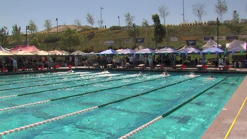 Men's 200m Breaststroke Heat 05 - 2012 California/Nevada Gold Sectional Championship