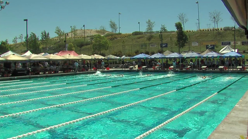 Women's 100 Butterfly Heat 16 - 2012 California/Nevada Gold Sectional Championship