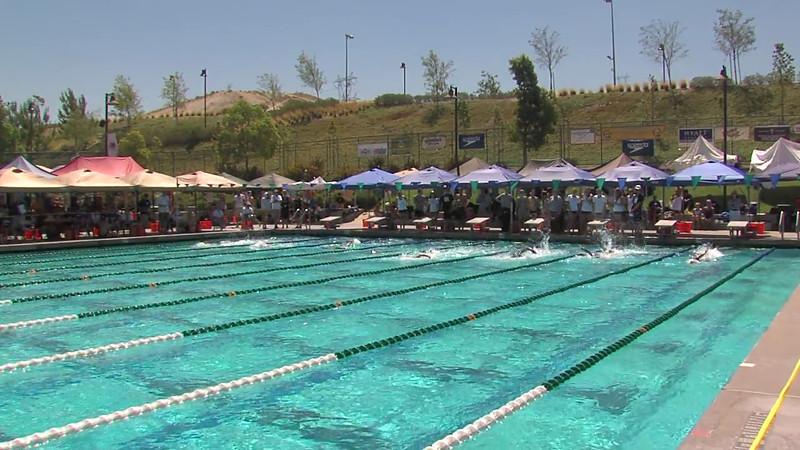 Women's 100m Freestyle Heat 06 - 2012 California/Nevada Gold Sectional Championship