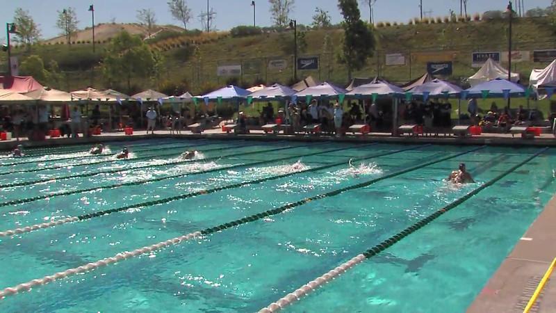 Women's 200m Breaststroke Heat 07 - 2012 California/Nevada Gold Sectional Championship