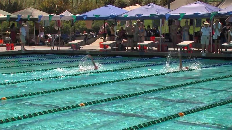 Women's 200m Backstroke Swimoff - 2012 California/Nevada Gold Sectional Championship
