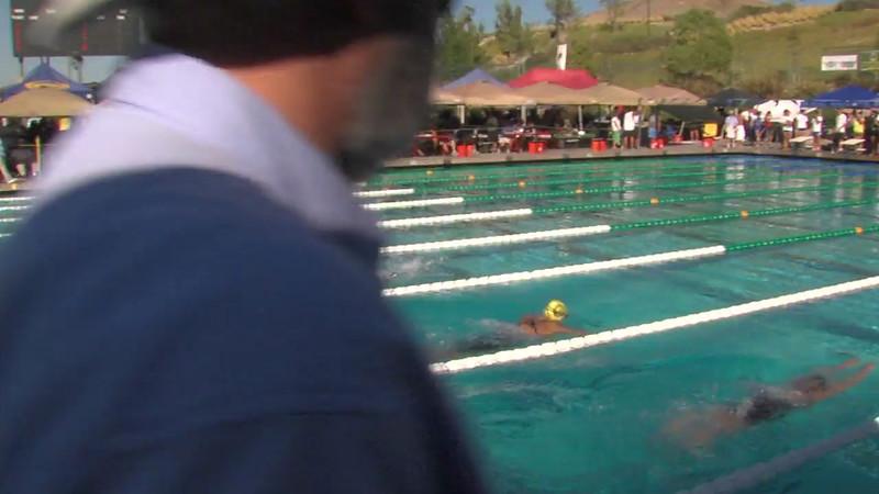 Women's 200m Breaststroke Heat Final D - 2012 California/Nevada Gold Sectional Championship