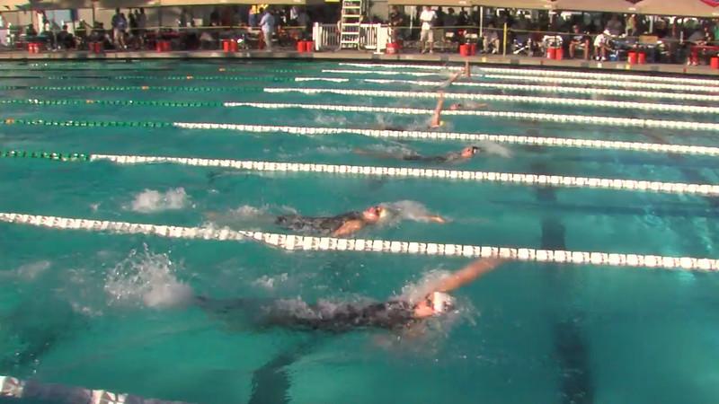 Women's 200m Backstroke Heat Final C - 2012 California/Nevada Gold Sectional Championship
