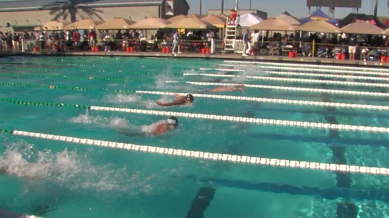 Men's 200m Butterfly Heat Final D - 2012 California/Nevada Gold Sectional Championship