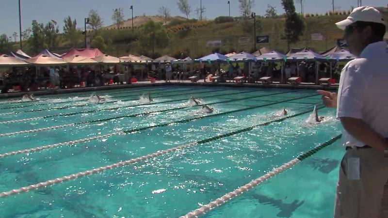 Women's 200m Backstroke Heat 01 - 2012 California/Nevada Gold Sectional Championship