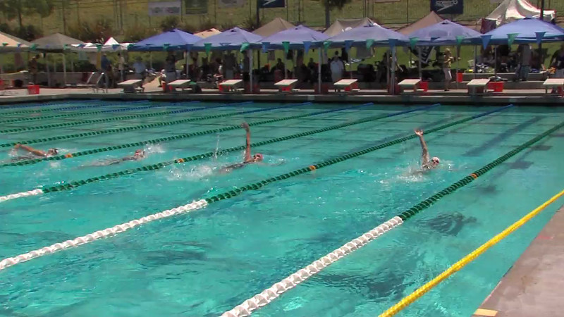 Women's 200m Backstroke Heat 05 - 2012 California/Nevada Gold Sectional Championship