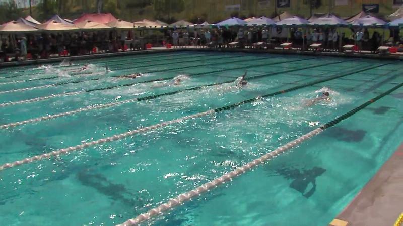 Women's 200m Backstroke Heat 07 - 2012 California/Nevada Gold Sectional Championship