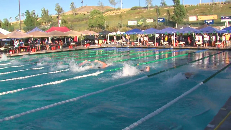 Men's 100m Freestyle Heat Final D - 2012 California/Nevada Gold Sectional Championship