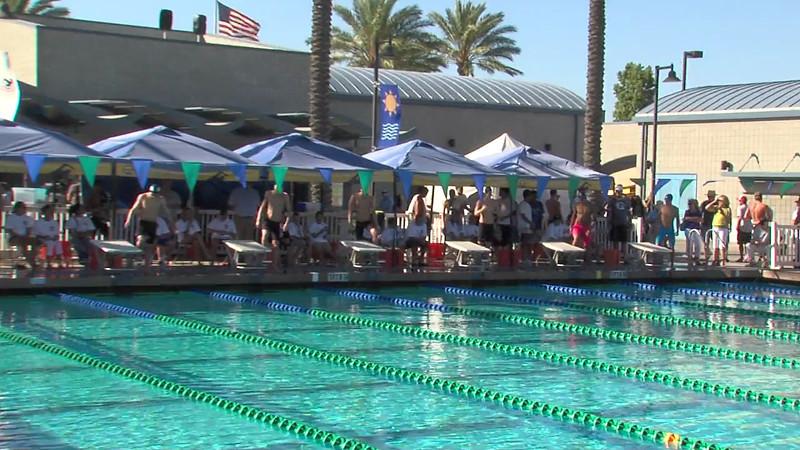Men's 200m Butterfly Heat Final B - 2012 California/Nevada Gold Sectional Championship