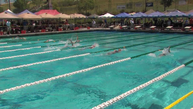 Women's 200m Backstroke Heat 04 - 2012 California/Nevada Gold Sectional Championship