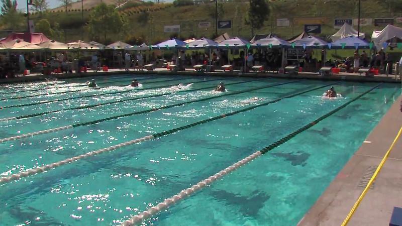 Women's 200m Breaststroke Heat 04 - 2012 California/Nevada Gold Sectional Championship