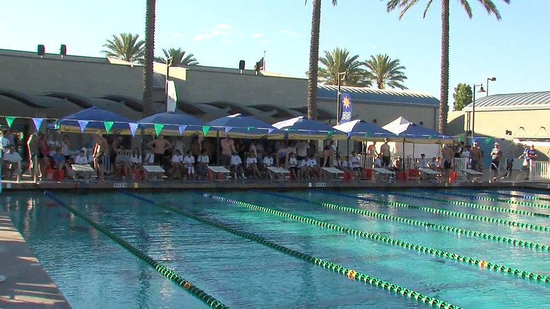 Men's 100m Freestyle Heat Final A - 2012 California/Nevada Gold Sectional Championship