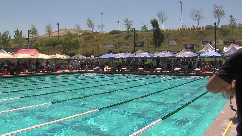 Women's 100m Freestyle Heat 04 - 2012 California/Nevada Gold Sectional Championship