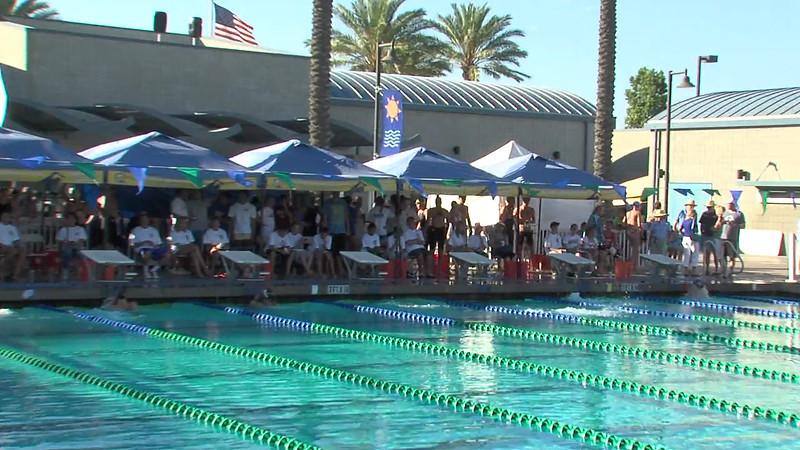 Women's 200m Backstroke Heat Final B - 2012 California/Nevada Gold Sectional Championship