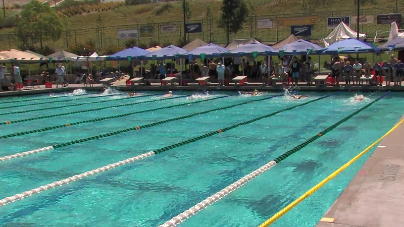 Women's 200m Butterfly Heat 04 - 2012 California/Nevada Gold Sectional Championship