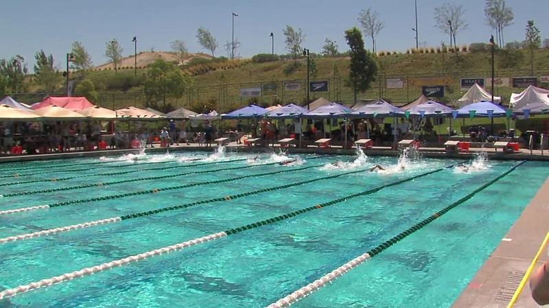 Men's 100m Freestyle Heat 04 - 2012 California/Nevada Gold Sectional Championship