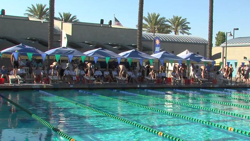 Men's 200m Breaststroke Heat Final B - 2012 California/Nevada Gold Sectional Championship