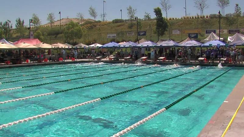 Men's 200m Backstroke Heat 06 - 2012 California/Nevada Gold Sectional Championship