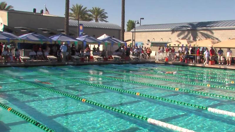 Women's 200m Butterfly Heat Final B - 2012 California/Nevada Gold Sectional Championship