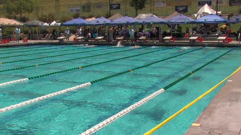 Men's 200m Backstroke Heat 03 - 2012 California/Nevada Gold Sectional Championship
