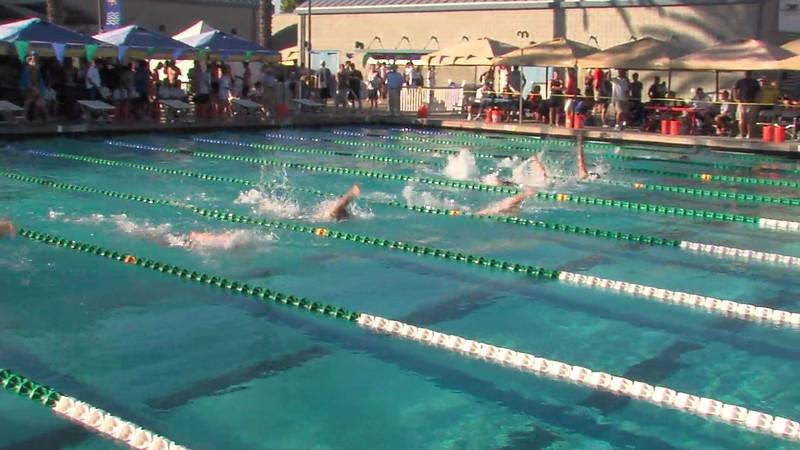 Men's 200m Backstroke Heat Final C - 2012 California/Nevada Gold Sectional Championship
