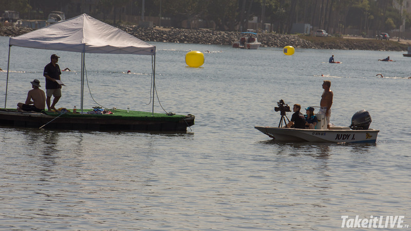 The Live Streaming Boat at Swim Across America