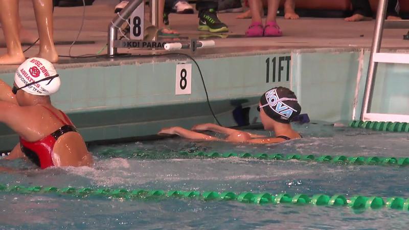 Women's 200 Backstroke Heat 03 - 2013 - SCS Club Championship