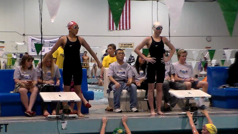 Women's 100 Butterfly Heat Final A - 2013 - SCS Club Championship