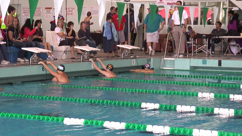 Men's 200 Backstroke Heat 01 - 2013 - SCS Club Championship