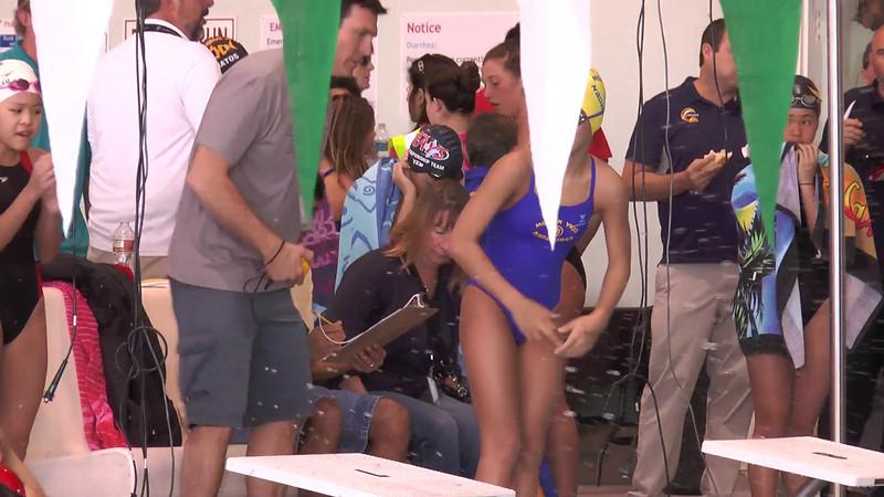 Women's 200 Backstroke Heat 02 - 2013 - SCS Club Championship