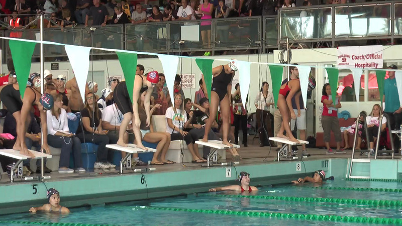 Women's 100 Butterfly Heat 04 - 2013 - SCS Club Championship
