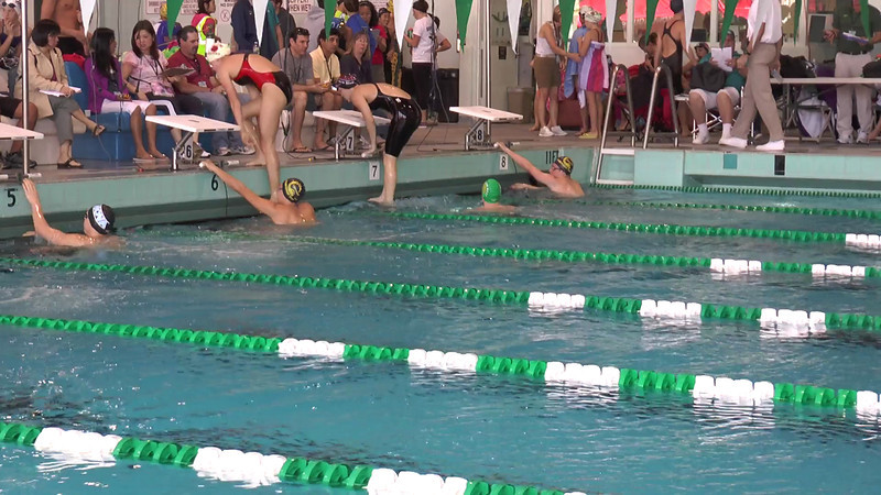 Men's 200 Backstroke Heat 01 - 2013 - SCS Club Championship