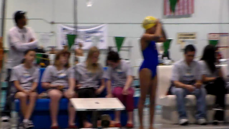 Women's 50 Backstroke Heat Final A - 2013 - SCS Club Championship