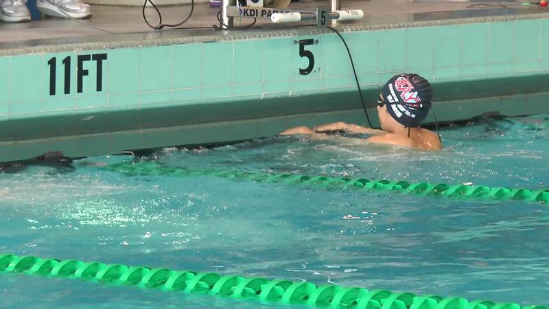 Men's 50 Backstroke Heat 04 - 2013 - SCS Club Championship