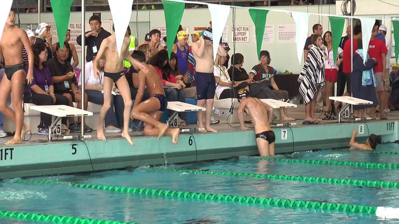 Men's 200 Backstroke Heat 02 - 2013 - SCS Club Championship
