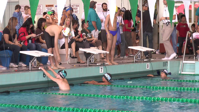 Men's 50 Backstroke Heat 02 - 2013 - SCS Club Championship